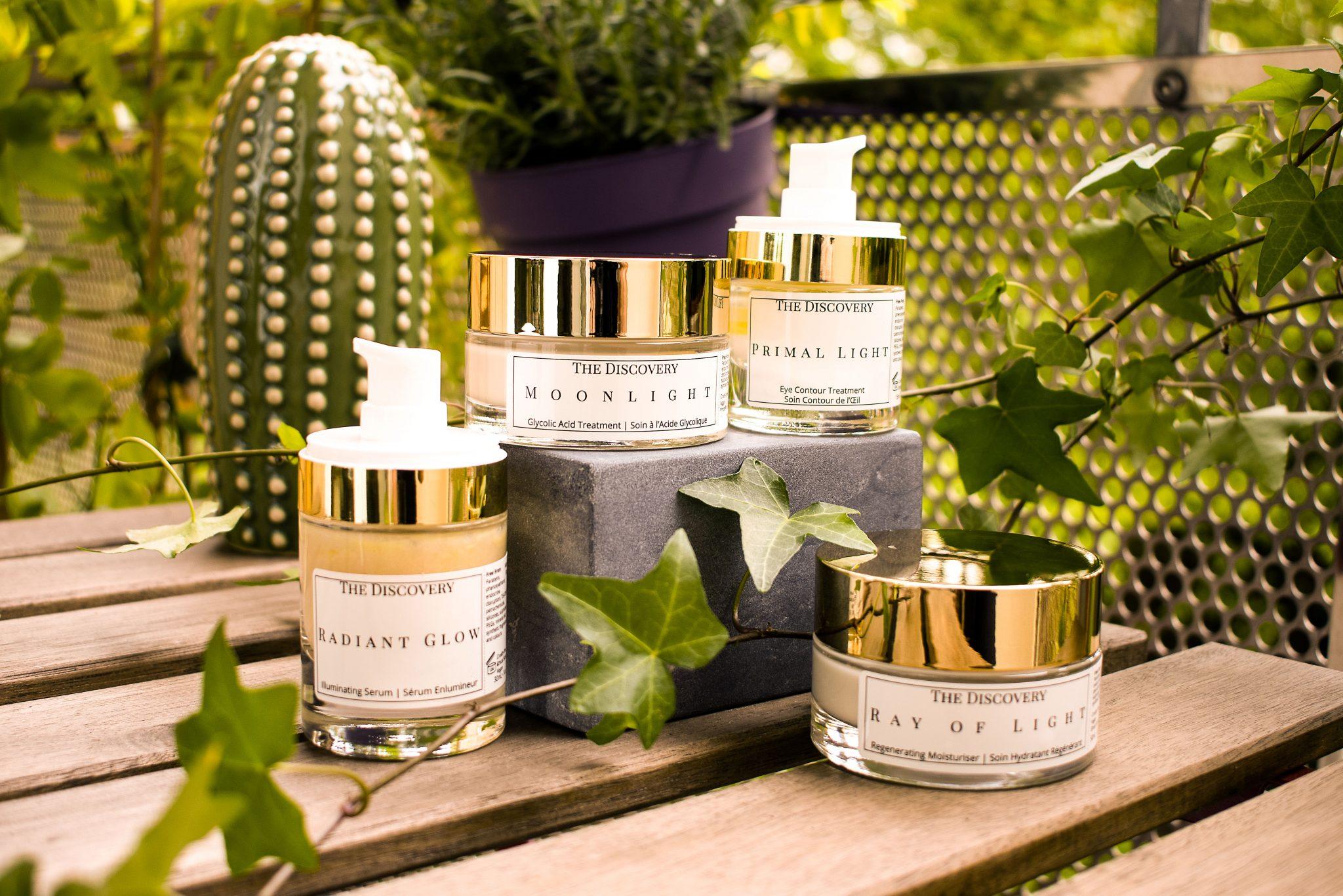 Lumen Vitae skincare full range on plants background